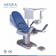 AG-S101 hospital gynecological operating table for sale with examination lamp